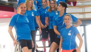 Gruppenbild - Charity-Aktion - Bewegenhilft.de 2017