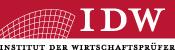 IDW-Institut der Wirtschaftsprüfer